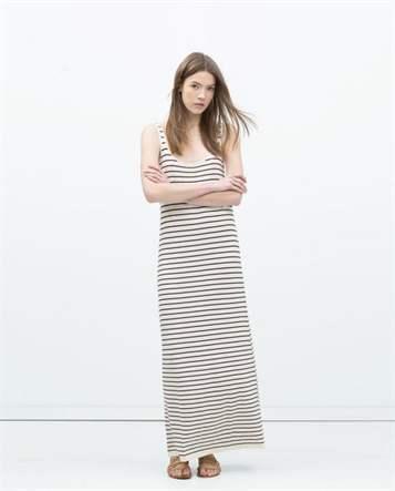 Обтягивающие платья в полоску