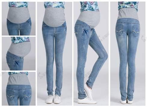 Из обычных джинсов сделать для беременной 89