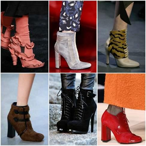 Мода Зимы 2017 Обувь