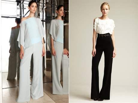 Как выглядеть элегантно в широких брюках: 9 модных примеров от Виктории Бэкхем новые фото