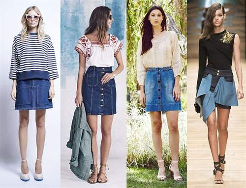 Джинсовые юбки рисунки