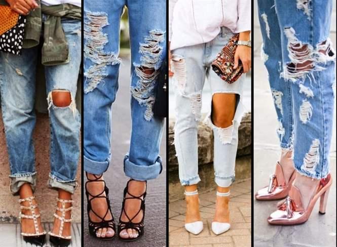Как сделать что джинсы дальше не рвались 174