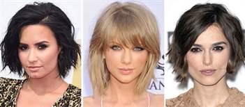 Стрижка на средние волосы с челкой 2017 модные