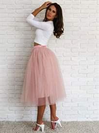 Комплекты с розовой юбкой