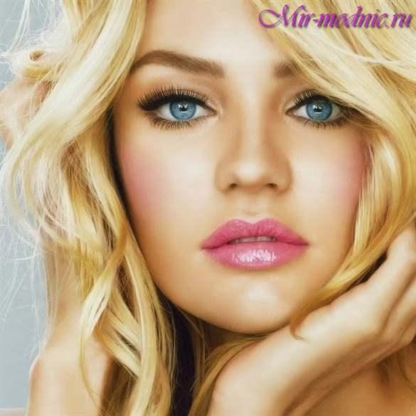 Макияж блондинок модные тенденции фото