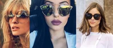 Модные женские солнцезащитные очки 2019  фото актуальных моделей ... a8f48e62544