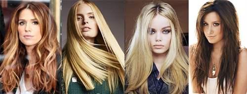 Прическа длинные волосы 2017