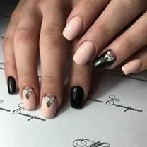 Дизайн ногтей мятный цвет