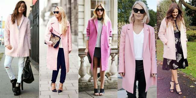 Как правильно носить платье и пальто