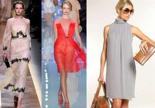 модные платья из шифона с фото