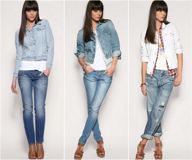 Джинсовые пиджаки с чем носить фото