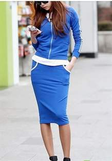 Спортивный костюм женский с юбкой купить