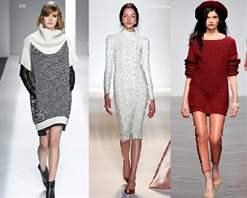Вязаные платья фото 2015