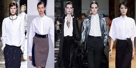 Модные Офисные Блузки Осени 2013 Года