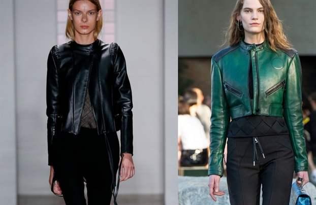 Кожаные Куртки Женские Весна 2018