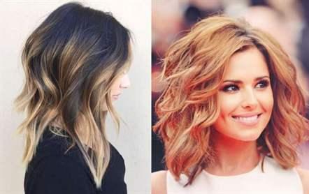 Волосы средней длины укладки модные с 111
