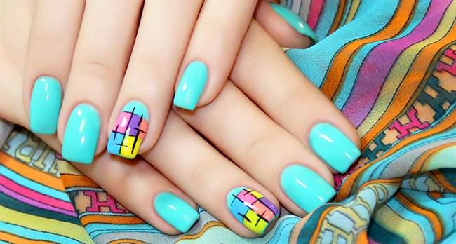 Дизайн ногтей с покрытием гель лаков фото 85
