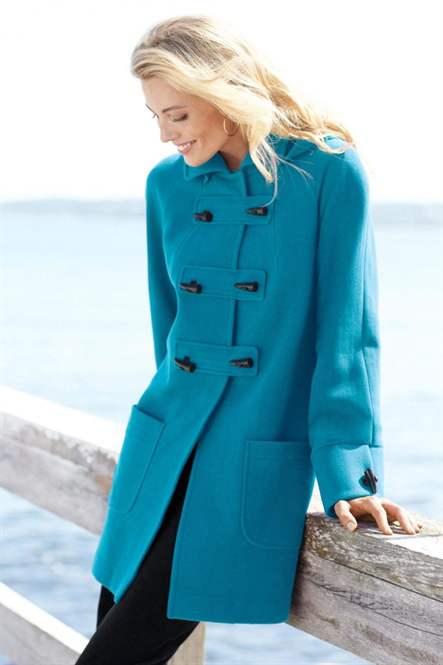 Фото пальто дафлкот женское