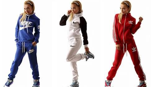 Модели модных спортивных костюмов