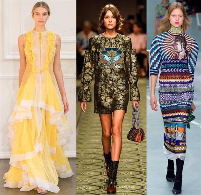 Модели платьев летнего сезона
