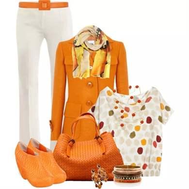 С чем связан оранжевый цвет