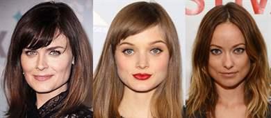 Прическа на волосы средней длины для квадратного лица фото