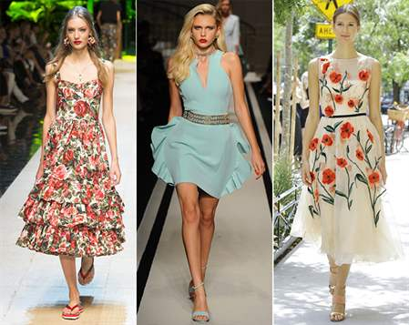 Сшить платья летние 2017