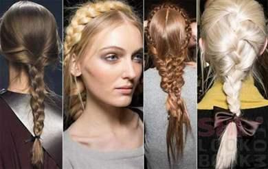 Молодежные прически для девушек с длинными волосами