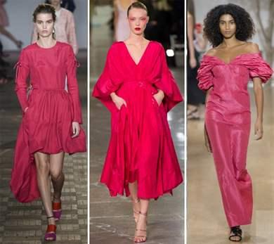 Какие этим летом модные цвета платьев