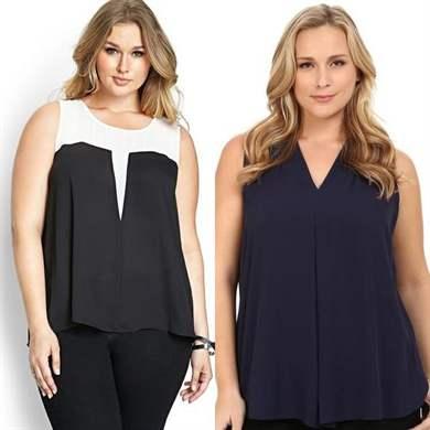 Модные Блузки 2017 Для Полных