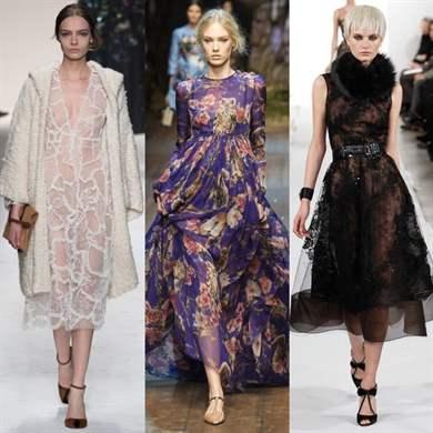 Материалы для платьев 2017