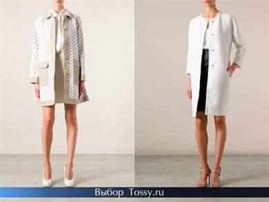 Модные пальто как называются
