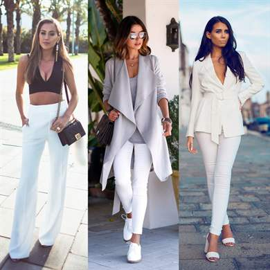 Модный женский образ весна 2017