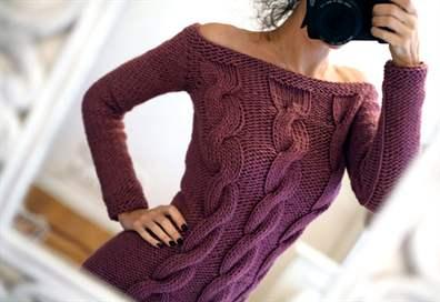 Женский пуловер спицами схема фото 471