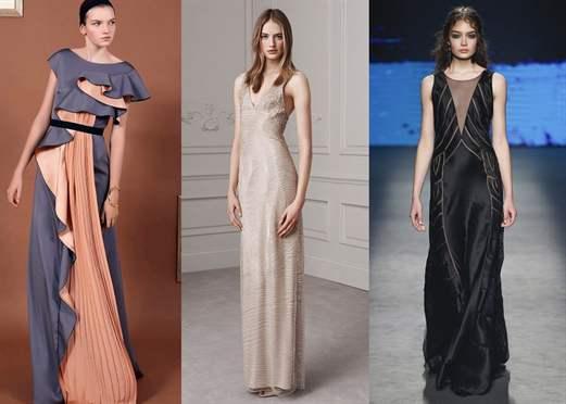 Какие фасоны платьев модные в 2017 году
