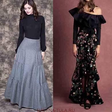 Модная Длина Юбки 2018