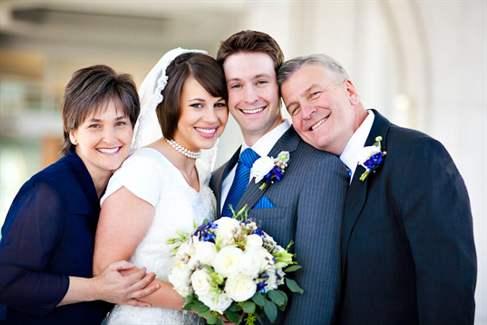 Как знакомится жених с мамой невесты