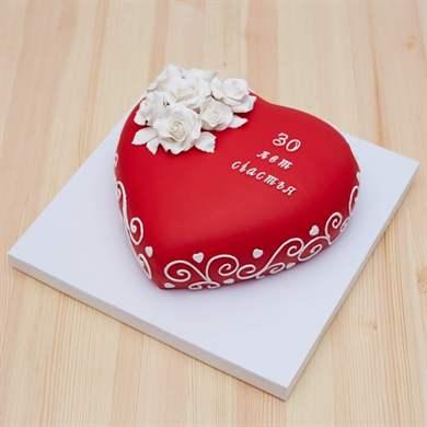 Простой торт на годовщину свадьбы своими руками 46