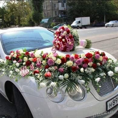 Как украсит свадебный кортеж своими руками 242