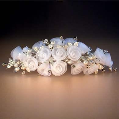 Свадебные украшения из лент