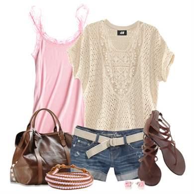 Розовая блузка  женственный элемент гардероба
