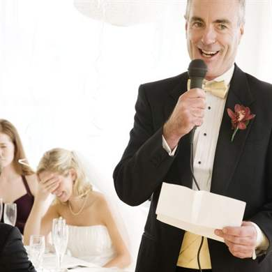 Слова благодарности родителям - на свадьбе от