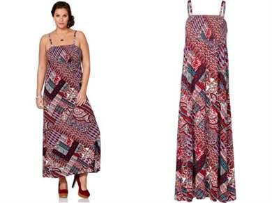 Как сшить платья сарафан на полных 700
