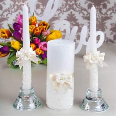 Свечи в подарок на свадьбу 48