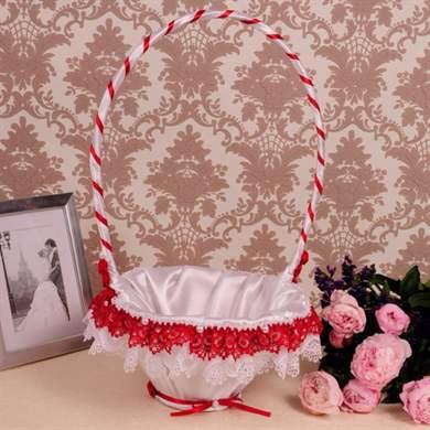 Свадебные корзинки для лепестков роз своими руками 74