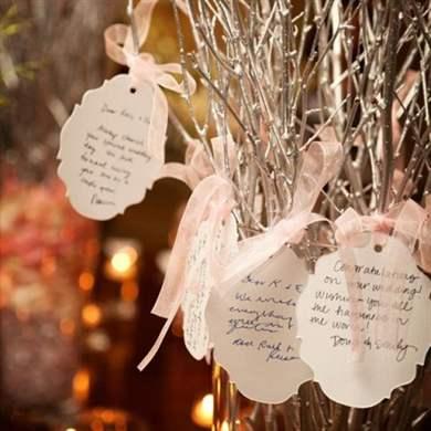 Дерево поздравлений на свадьбу 65