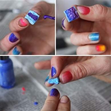 Как сделать градиент из трех цветов
