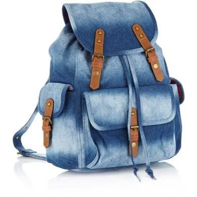 Сшить рюкзак из джинс для девочек