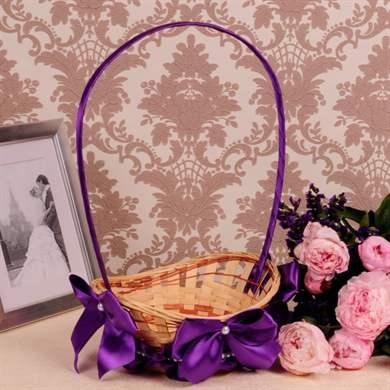 Свадебные корзинки для лепестков роз своими руками 51