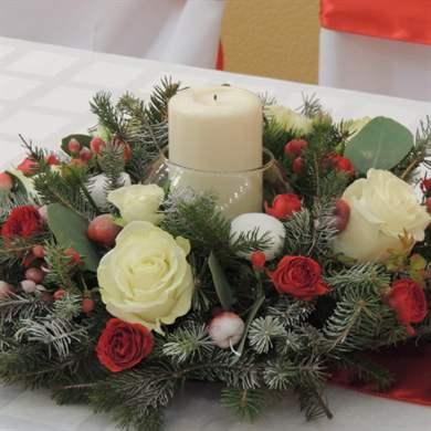 Композиции со свечами своими руками фото 864